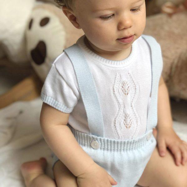 Arthur Sweater & Suspender Pant dolce goccia baby boys